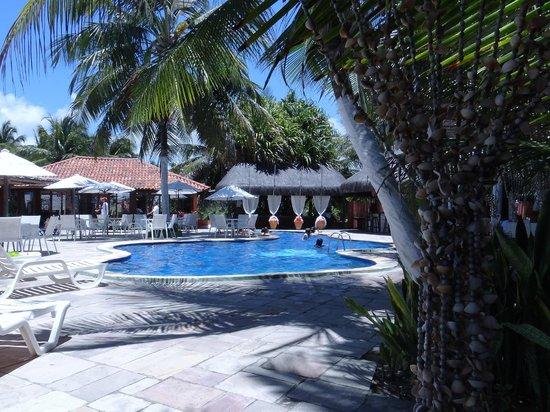 Pousada Tabapitanga: Área da piscina