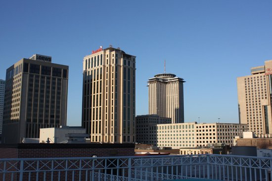 Renaissance New Orleans Arts Warehouse District Hotel : View from the rooftop