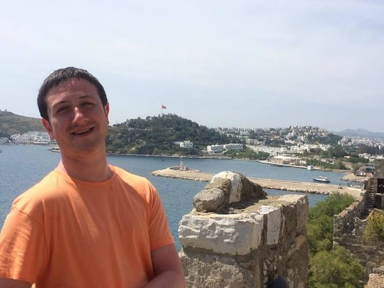 Castle of St. Peter : bodrum marina from castle