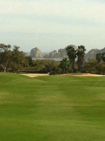 Cabo San Lucas Country Club: Looking down the 18th Fairway