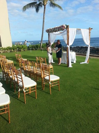 Beach House Restaurant: Wedding Ceremony