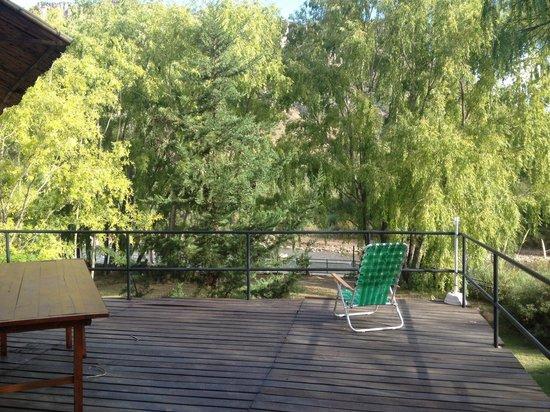 Rocas Amarillas: Balcón para almorzar o cenar en el 'resto de rocas' del amigo 'Héctor' un genio ! Vayan a conoce