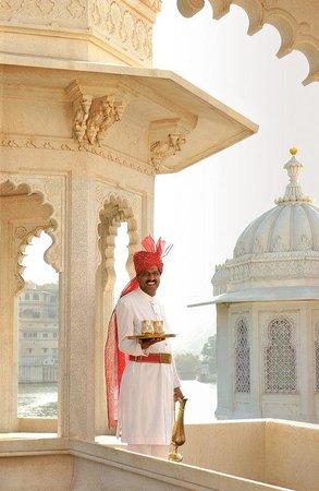 Taj Lake Palace Udaipur: Mewar Terrace
