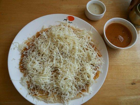 Sankalp Restaurant: Cheese madurai sandwich utthapam