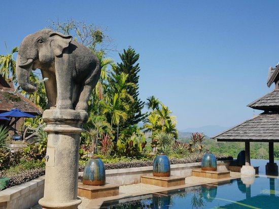 Anantara Golden Triangle Elephant Camp & Resort: swimming pool