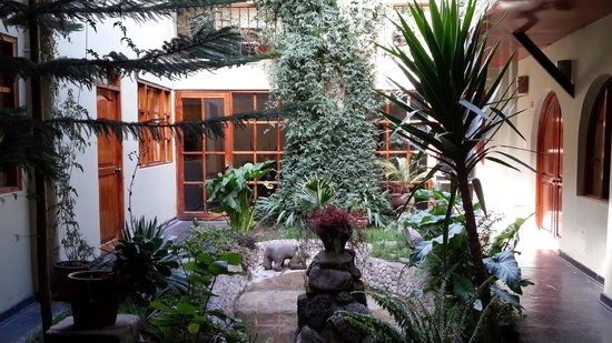 Hotel Sol : Internal patio