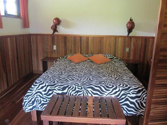 Arco Iris Lodge : Bed in loft