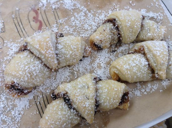 Morton's Bakehouse: Rugelach pastries fresh from the oven