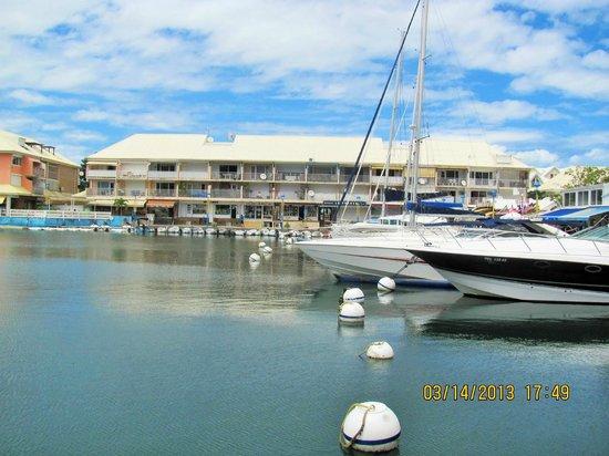 Residence Anse des Sables: la marina