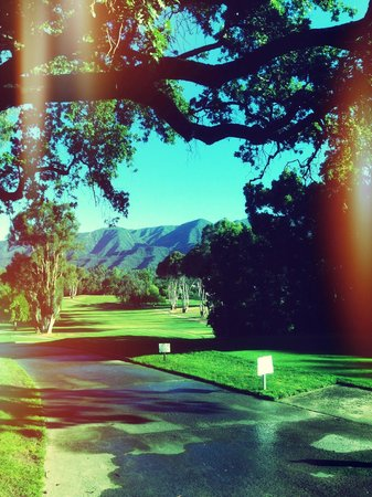 Ojai Valley Inn & Spa: golf view