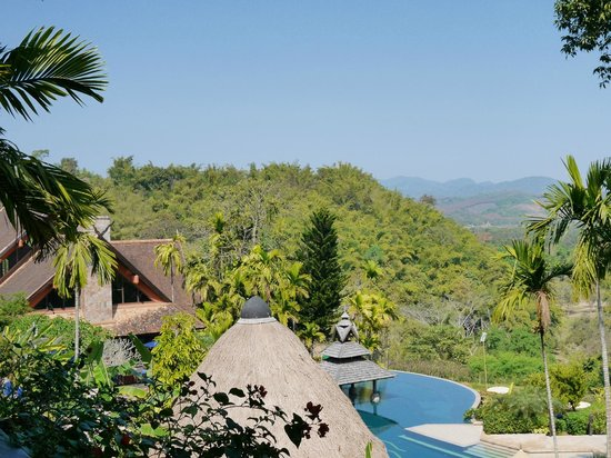 Anantara Golden Triangle Elephant Camp & Resort: View from the suite