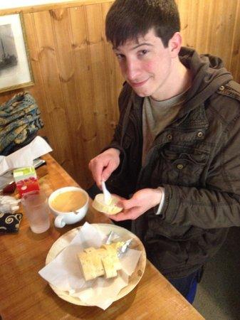 Saegreifinn - The Sea Baron : The lobster soup