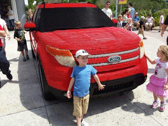 LEGOLAND Florida Resort: Wow a whole car made out of lego