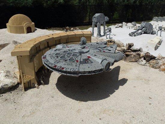 LEGOLAND Florida Resort: Millennium Falcon
