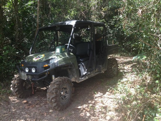Mystic River Resort : Our ride to Sapodilla Waterfall