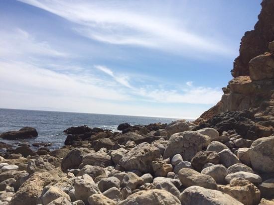 Terranea Resort: rocky shore
