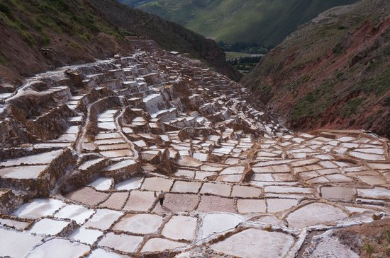 Salinas de Maras: Salt fields in Maras