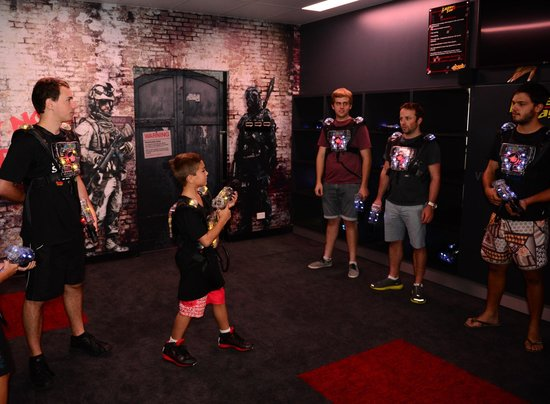 Game Over: Lazer Tag