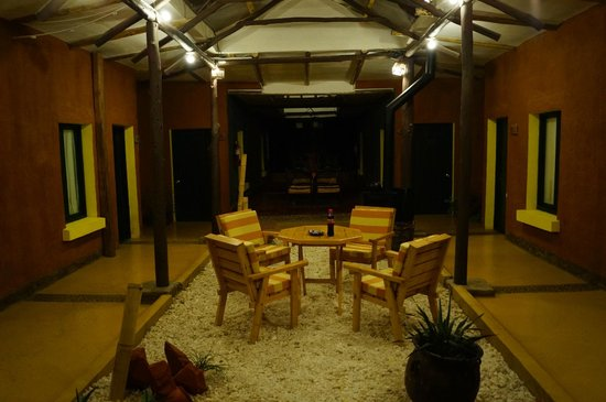 Hotel Jardines de Uyuni : area comun