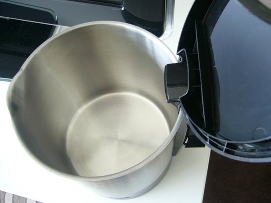 Swissotel Zurich: clean kettle