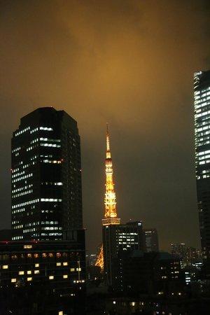 Ana Intercontinental Tokyo: 部屋からの眺め