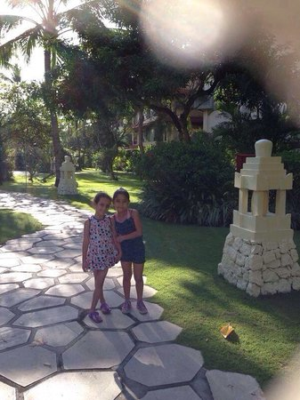 The Westin Resort Nusa Dua: Malak and Farida in Westin Hotel, Bali