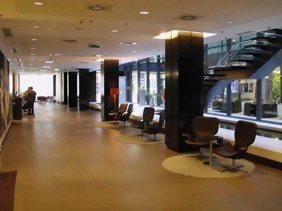 Eurostars Budapest Center Hotel : lobby