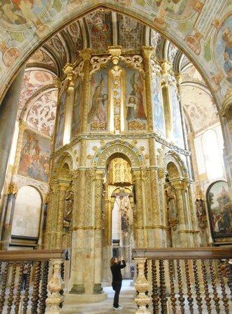 Convento da Ordem de Cristo : Capela no interior do Convento de Cristo
