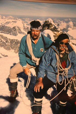 Matterhorn Museum - Zermatlantis: Ulrich Inderbinen picture at Matterhorn Museum  |  Kirchplatz, Zermatt 3920, Switzerland