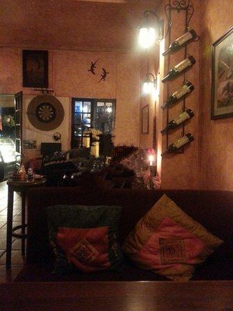 Le Gecko: Cosy decor