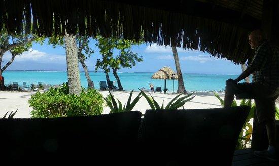 Sofitel Moorea Ia Ora Beach Resort : View from our Bungalow