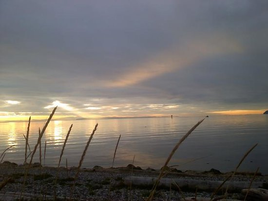 Semiahmoo Resort: sunset