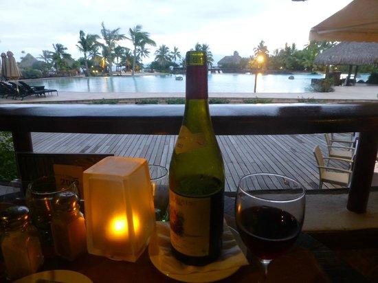 InterContinental Tahiti Resort & Spa: Dinner