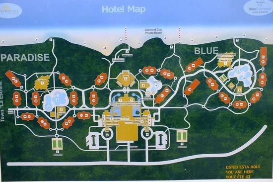 Memories Paraiso Beach Resort Plan De L Hotel