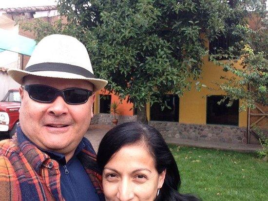 Hostal Goya Andina : Patio del hostal