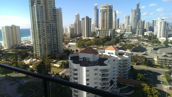 Surfers Paradise Marriott Resort & Spa : View