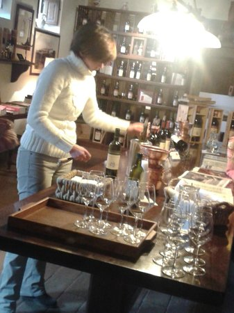 Franco Wine Tour Experience: Got ready for wine tasting
