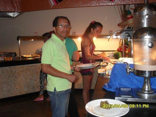 Grand Oasis Cancun: Buffett para la cena