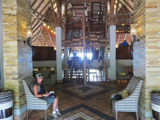 Victoria Falls Safari Lodge: Inside the Lodge
