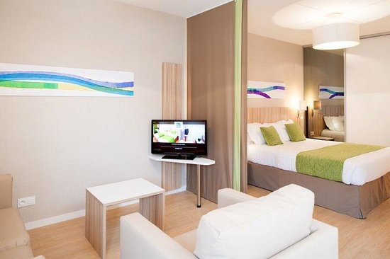 Quality Suites Lyon 7 Lodge : Superior Suite