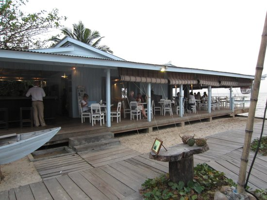 Sailing Club : Lovely outdoor dining