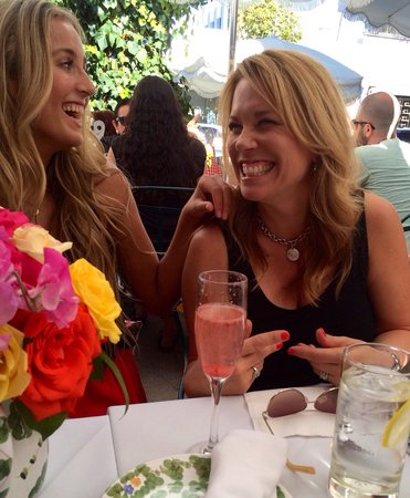 The Ivy : Great setting for a girls lunch!