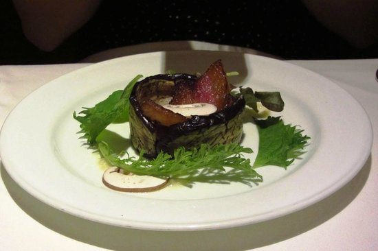 MUSHROOM: The eggplant appetizer