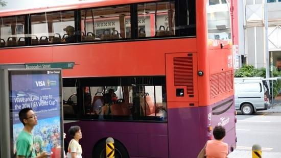 Ibis Singapore on Bencoolen: bus stop