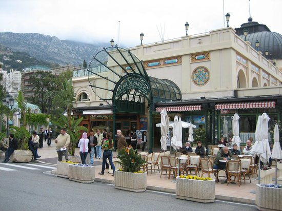 Brasserie du Cafe de Paris Monte-Carlo : Cafe de Paris