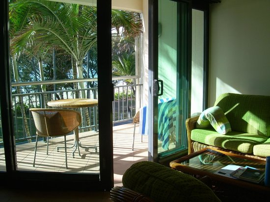 Peninsula Boutique Hotel: View from the lounge