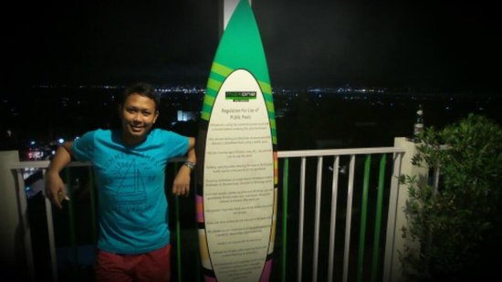 MaxOneHotels at Bukit Jimbaran : area menuju kolam renang