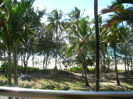 Peninsula Boutique Hotel: view from balcony