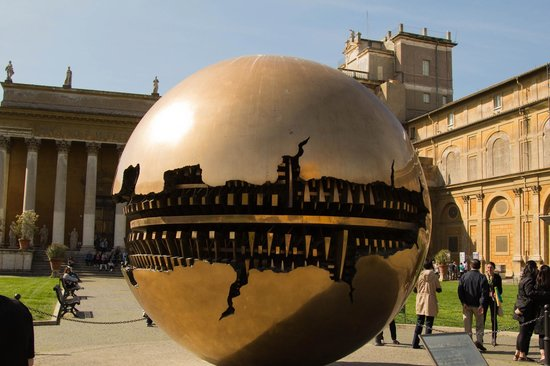 Vatican Guided Tours: Tomato?