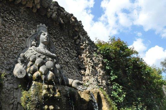 Villa d'Este : The Fountain of Nature (Diana of Ephesus)